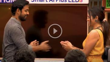 ஆரியும் ரம்யாவும் ஜாலியா விளையாடும் டாஸ்க் 8