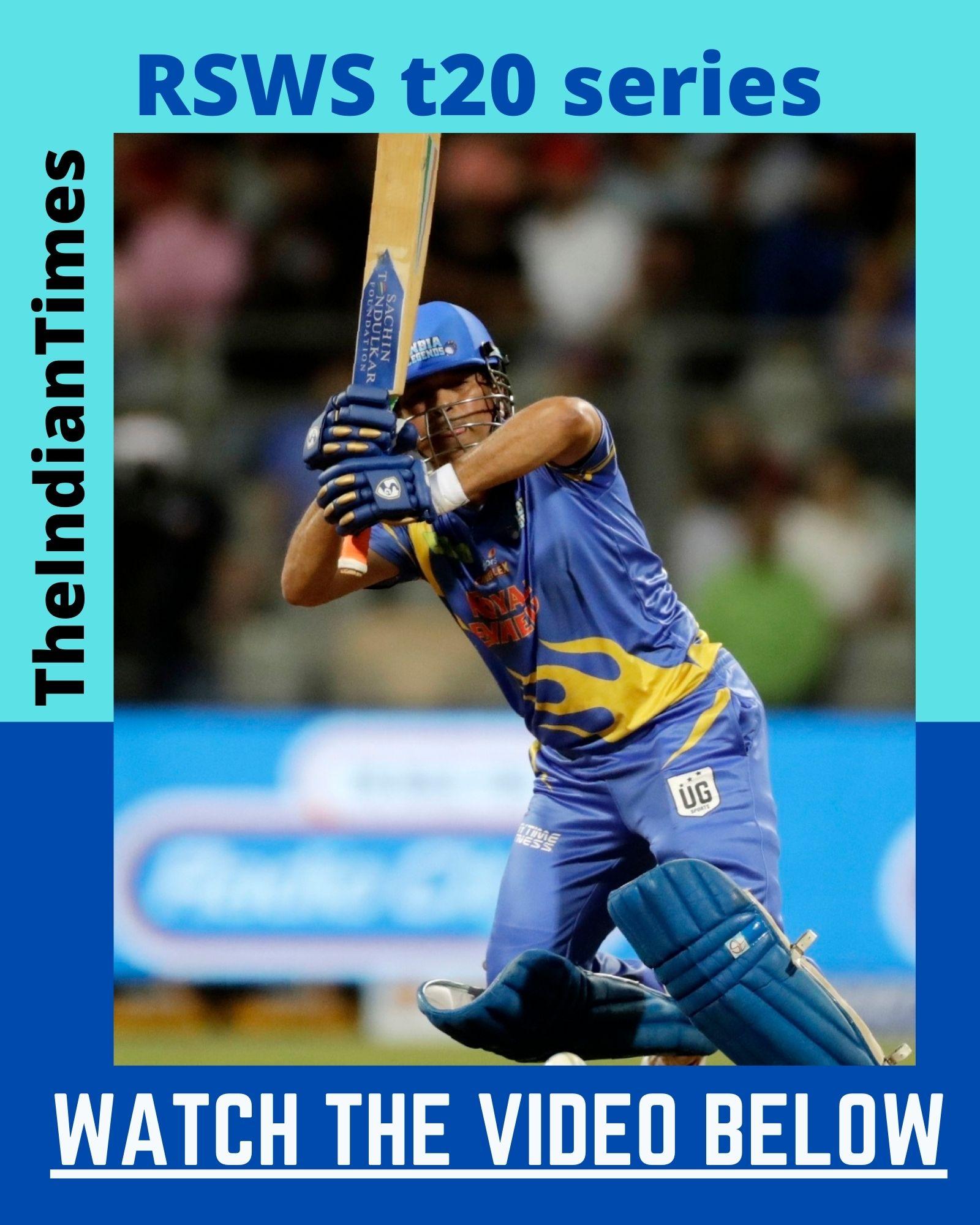 சச்சினின் வெறித்தனமான ஆட்டத்தால் வெற்றி பெற்ற இந்தியா லெஜெண்ட்ஸ் ! 7