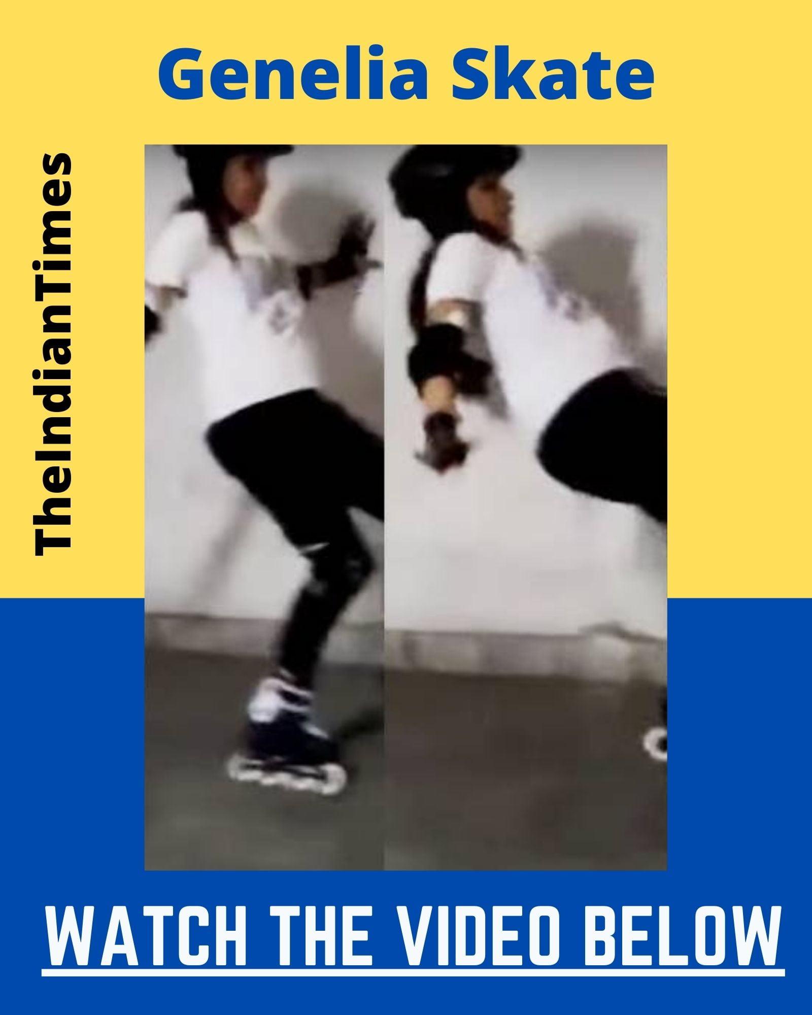 Skating செய்து கையை உடைத்துக்கொண்டு நடிகை ஜெனிலியா - வைரலாகும் வீடியோ 7