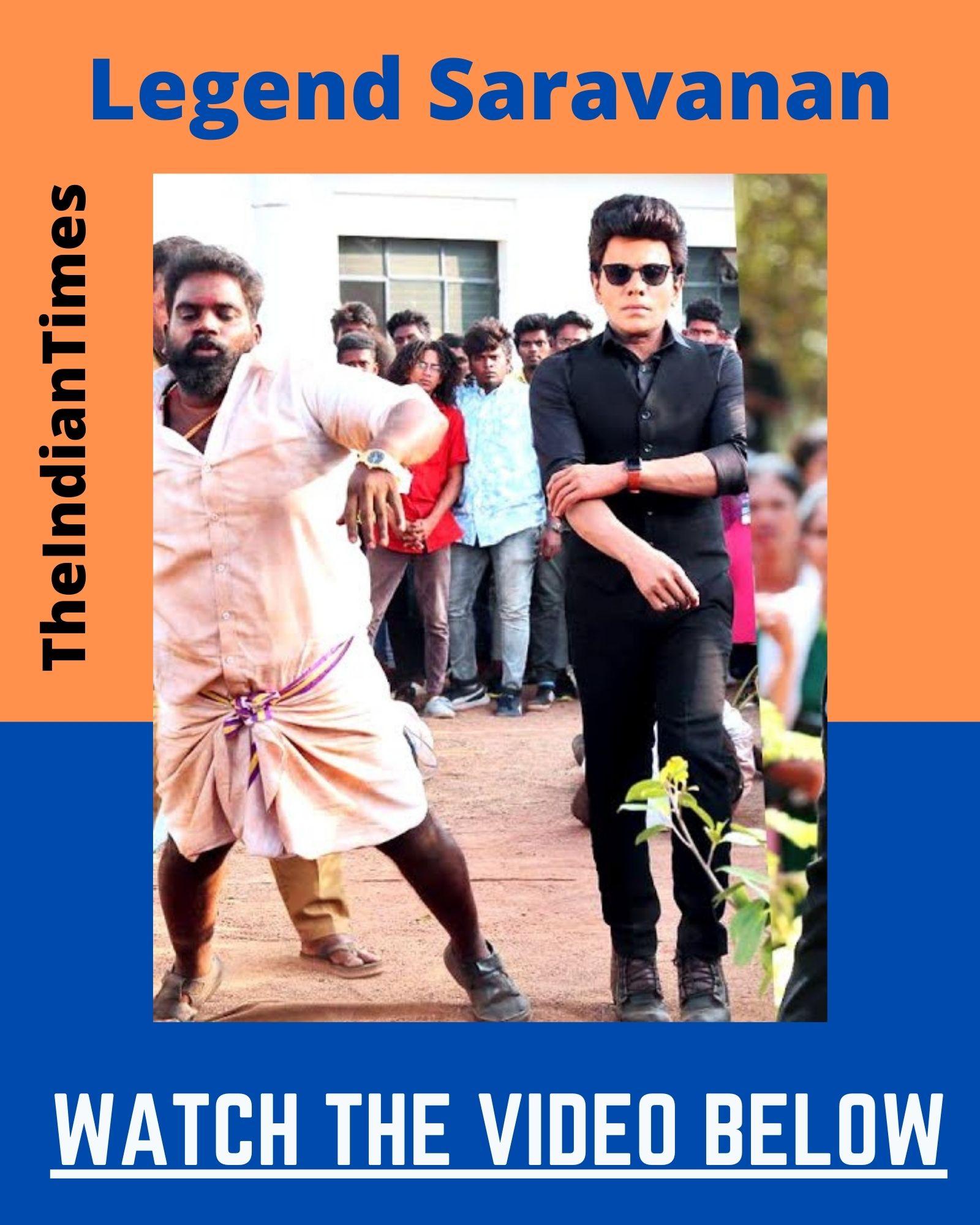 Legend சரவணன் நடிக்கும் Action காட்சி - வைரல் வீடியோ 7