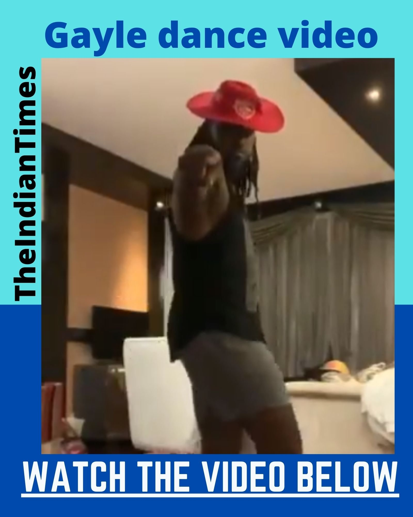 கிறிஸ் கெயிலின் மூன் வாக்! viral video 7