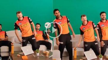 வாத்தி கம்மிங் பாடலுக்கு நடனமாடிய வார்னர் ! சன்ரைசர்ஸ் அணியின் வைரல் வீடியோ 18