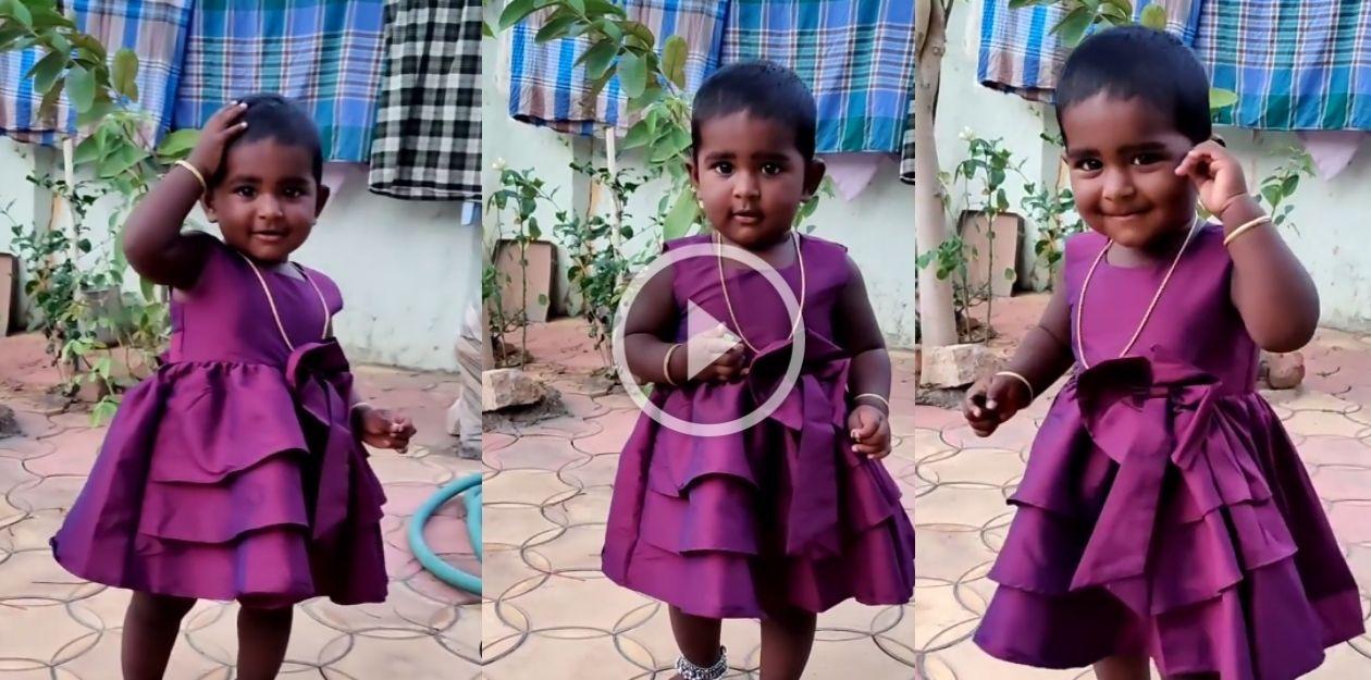 நிஷா மகள் சஃபா ரியாஸின் நிலா நிலா ஓடிவா வைரல் வீடியோ! 1