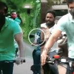 நடிகர் விஜய் சைக்ளில் சென்று வாக்களித்தார் | Vijay Cycle Video 25